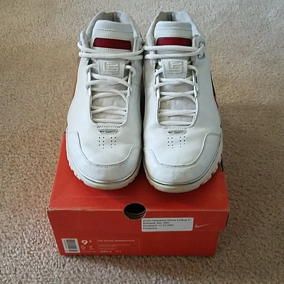 d25a0b91149 LeBron James 1 (Air Zoom Generation). M 5b40fdeb5c4452ea67eaac59. Other  Shoes you may like. Nike ...